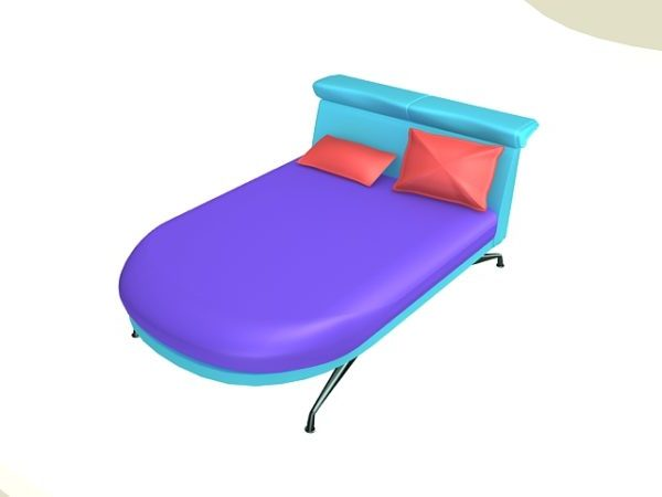 Modern Daybed 3ds Max Model - Free Download ( Max) - Open3dModel