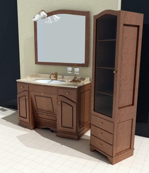 vintage bathroom sink vanities free 3d