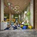 Kindergarten Playground Space Interior Scene