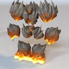Abyssal Flamebringer Animated&Rigged