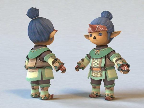 Elf Chibi Boy Cartoon