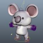 Koala Bear Cartoon Character