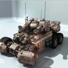 الخيال العلمي دبابات المعركة