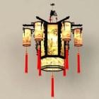中国古代のシャンデリア照明器具