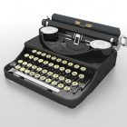 Office Old-fashioned Typewriter