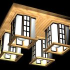 Home Antique Square Ceiling Lights