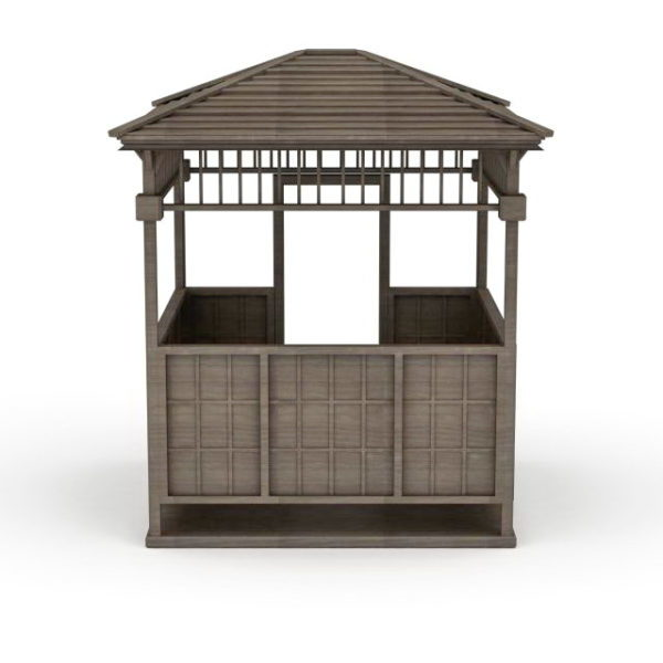 Wood Pavilion Garden Design