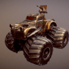Mad Max Vehicle Monster Truck