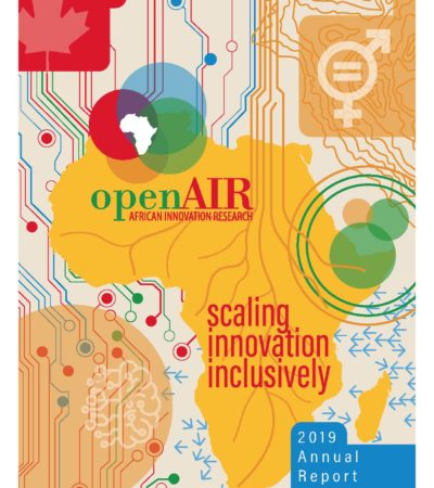 Open AIR Annual Report 2019 Cover