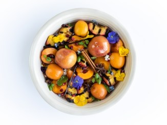 Food in a bowl