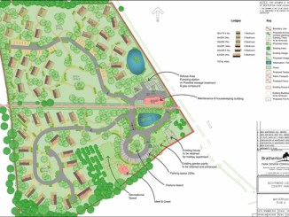 Proposed map for new lodges