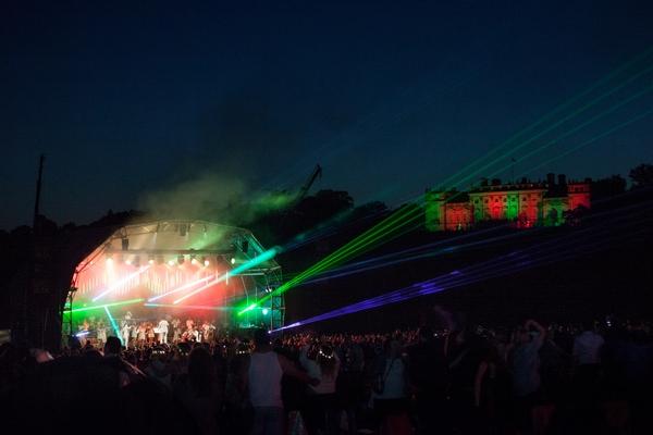 Nighttime festival