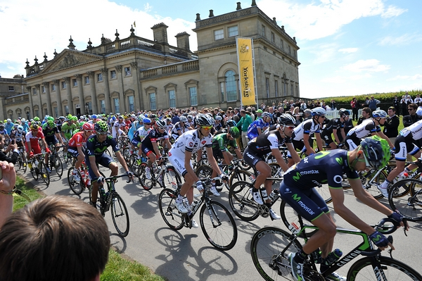 Harewood House bike race