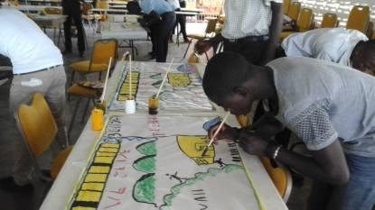 Training in Haiti