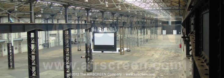 20'x11.25' AIRSCREEN in the Showroom