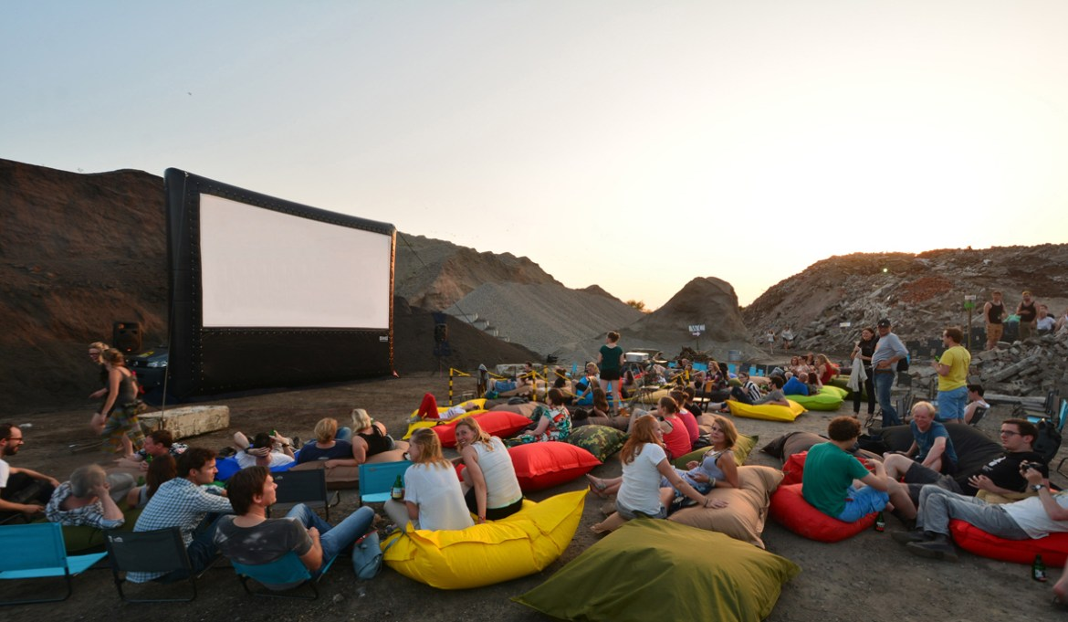 outdoor cinema in the Netherlands