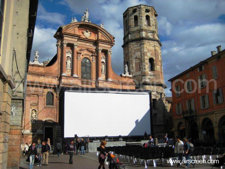 aufblasbare Leinwand in Reggio Emilia