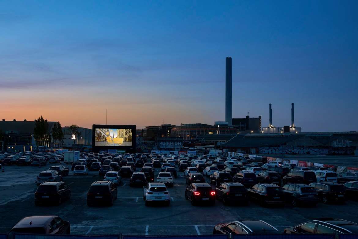 Autokino in Münster am Hawerkamp
