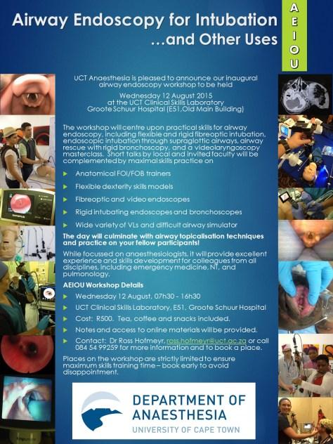 AEIOU - Airway Endoscopy for Intubation Workshop - Poster 2015_0812