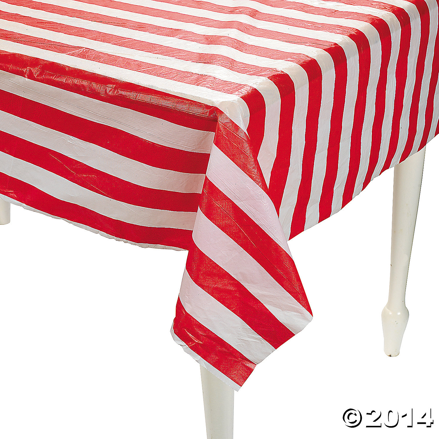 Roll Tables Red Plastic