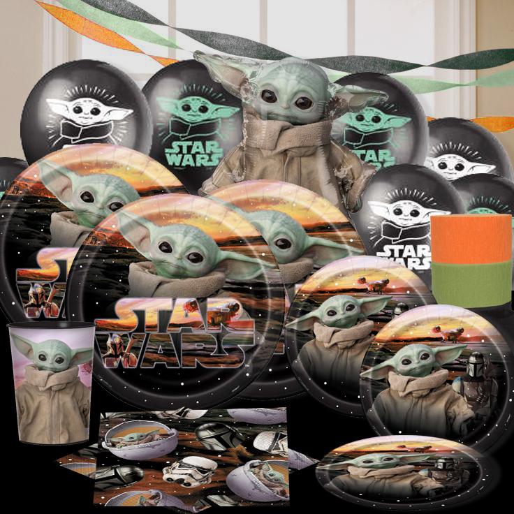 Baby Yoda Mandalorian Party Supplies Party Supplies Canada Open A Party