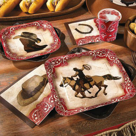 Western Cowboy Party Supplies Party Supplies Canada Open