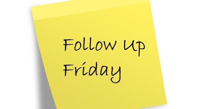 OA201: Follow Up Friday!