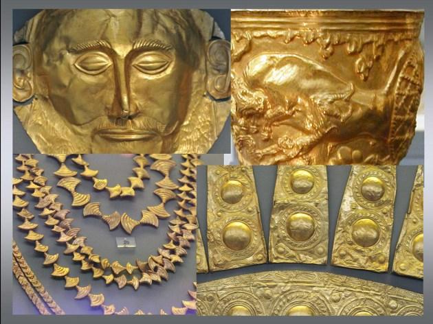 Mycenaean treasures