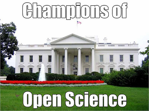 white house open science