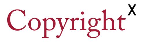 CopyrightX logo