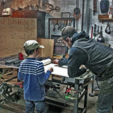Kids in the Shop