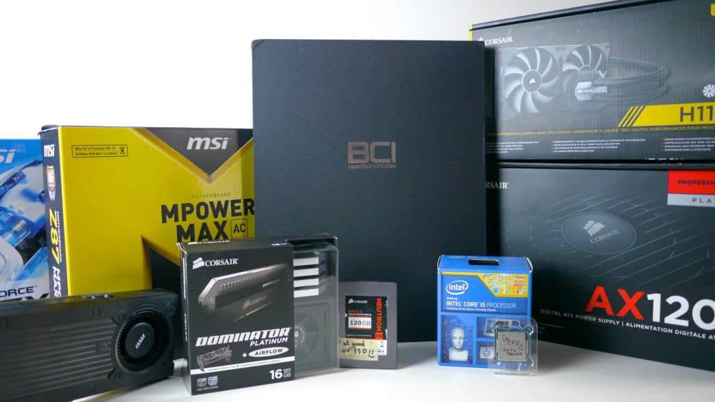 Open Benchtable PC Build Guide by Trouffman