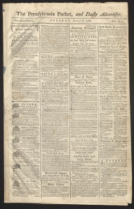 The Pennsylvania Packet, 1786