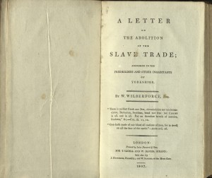 Letter on the Abolition of the Slave Trade