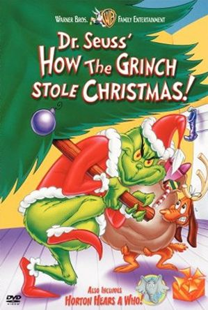 Dr Seuss The Grinch Who Stole Christmas Poem.Obs Book Vs Movie How The Grinch Stole Christmas Book