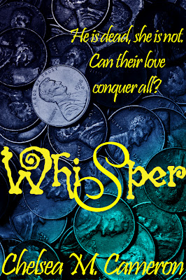 CHELSEA CAMERON AUTHOR OF WHISPER COVER REVEAL