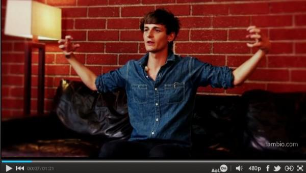 GILES MATTHEY COMPARES 'TRUE BLOOD' TO 'TWILIGHT'