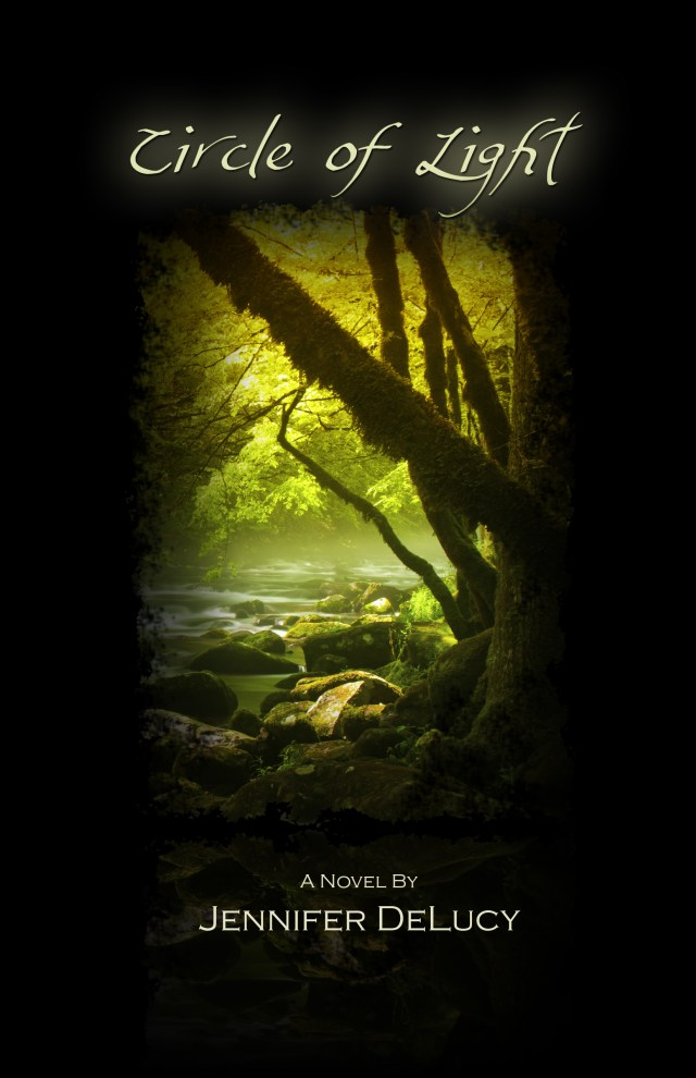 BOOK 3 OF THE LIGHT SERIES, CIRCLE OF LIGHT, BY JENNIFER DELUCY: COVER REVEAL!!
