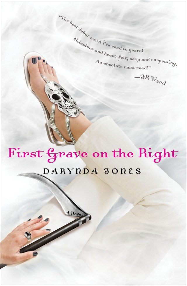 FIRST GRAVE ON THE RIGHT (CHARLEY DAVIDSON, BOOK #1) BY DARYNDA JONES: BOOK REVIEW