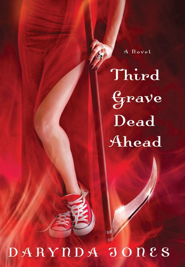 THIRD GRAVE DEAD AHEAD (CHARLEY DAVIDSON, BOOK #3) BY DARYNDA JONES: BOOK REVIEW