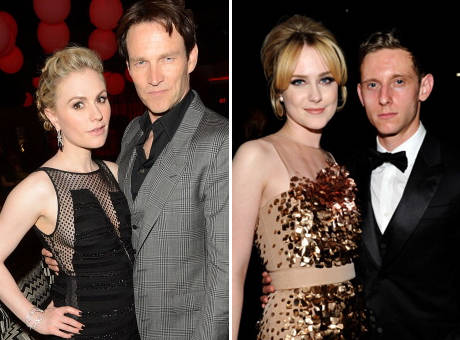 HAPPILY MARRIED AND STILL BISEXUAL: 'TRUE BLOOD' CAST MEMBERS ANNA PAQUIN & EVAN RACHEL WOOD