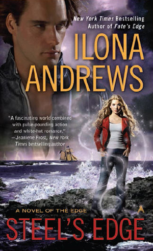 STEEL'S EDGE (THE EDGE, BOOK #4) BY ILONA ANDREWS: BOOK REVIEW