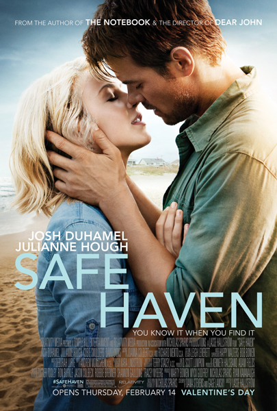 SAFE HAVEN BY NICHOLAS SPARKS: MOVIE PRIZE PACK GIVEAWAY