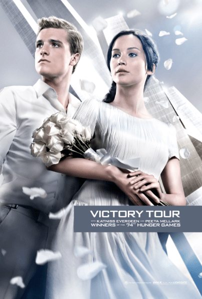 THE HUNGER GAMES: CATCHING FIRE – NEW VICTORY TOUR POSTERS