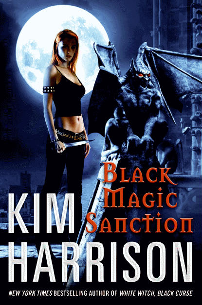 BLACK MAGIC SANCTION (THE HOLLOWS, BOOK #8) BY KIM HARRISON: BOOK REVIEW