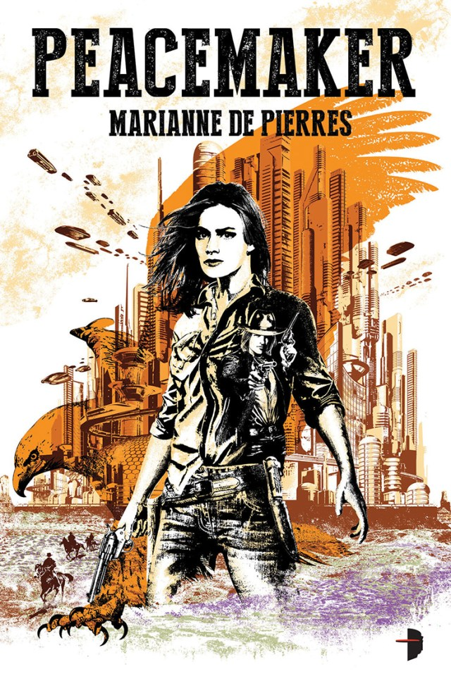 PEACEMAKER BY MARIANNE  DE PIERRES: BOOK REVIEW