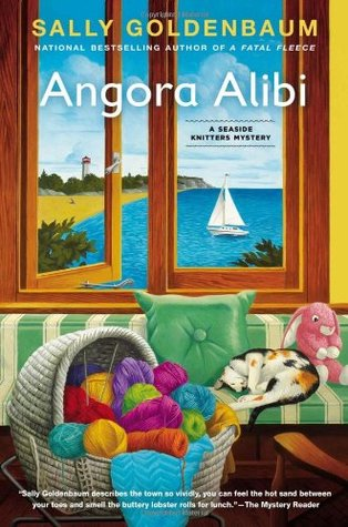 ANGORA ALIBI (SEASIDE KNITTERS MYSTERY, BOOK #7) BY SALLY GOLDENBAUM: BOOK REVIEW
