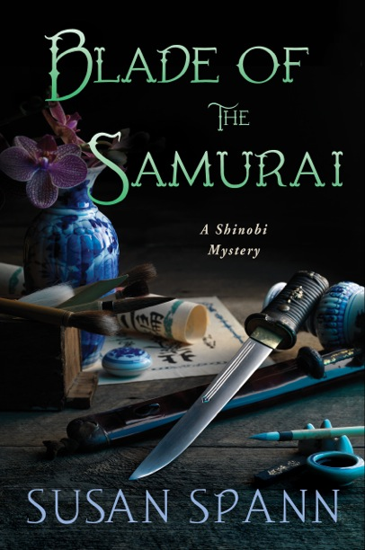BLADE OF THE SAMURAI BY SUSAN SPANN: BLOG TOUR & GIVEAWAY