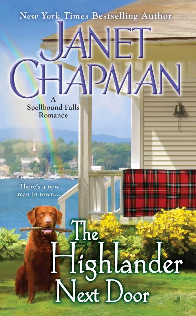 THE HIGHLANDER NEXT DOOR (SPELLBOUND FALLS, BOOK #6) BY JANET CHAPMAN: BOOK REVIEW