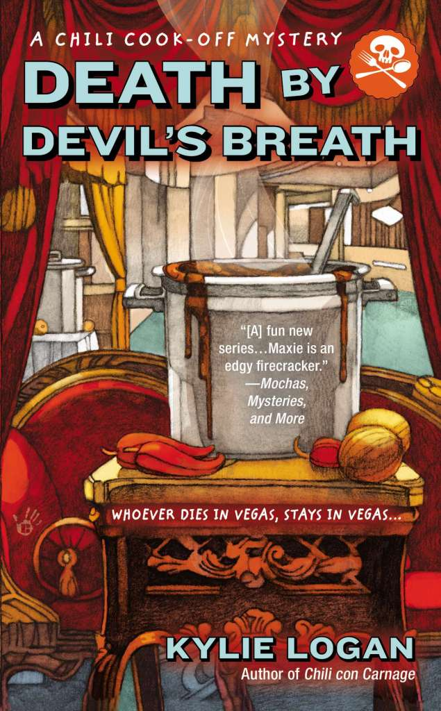 DEATH BY DEVIL'S BREATH (CHILI COOK-OFF MYSTERY, BOOK #2) BY KYLIE LOGAN: BOOK REVIEW